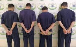 اعتقال تجار مخدرات بالسليمانية بحوزتهم 7 ملايين مادة