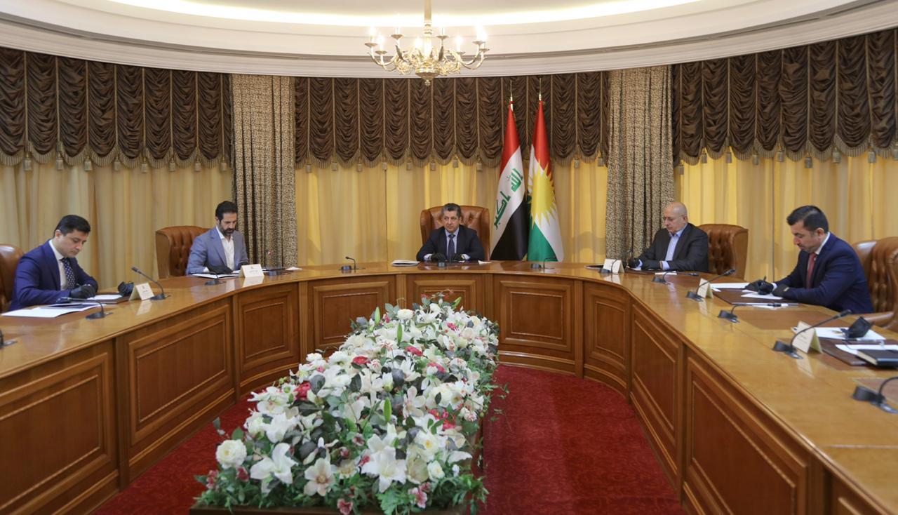 حكومة كوردستان تجتمع مع الوفد المفاوض لبغداد لمناقشة نتائج الاجتماعات