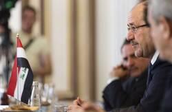 """المالكي يضع اليد على """"ما نغص على العراقيين"""" ويحث لاتمام """"المهمة الثقيلة"""""""