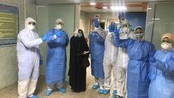 تعافي مصابين بكورونا في بغداد