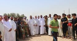 نقل لواء بالحشد الى نينوى يفجر احتجاجا في صلاح الدين