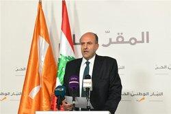"""لبنان تعد استهدافها مرتبطا بـ""""اعمال عدائية"""" تنفذها اسرائيل في العراق وسوريا"""