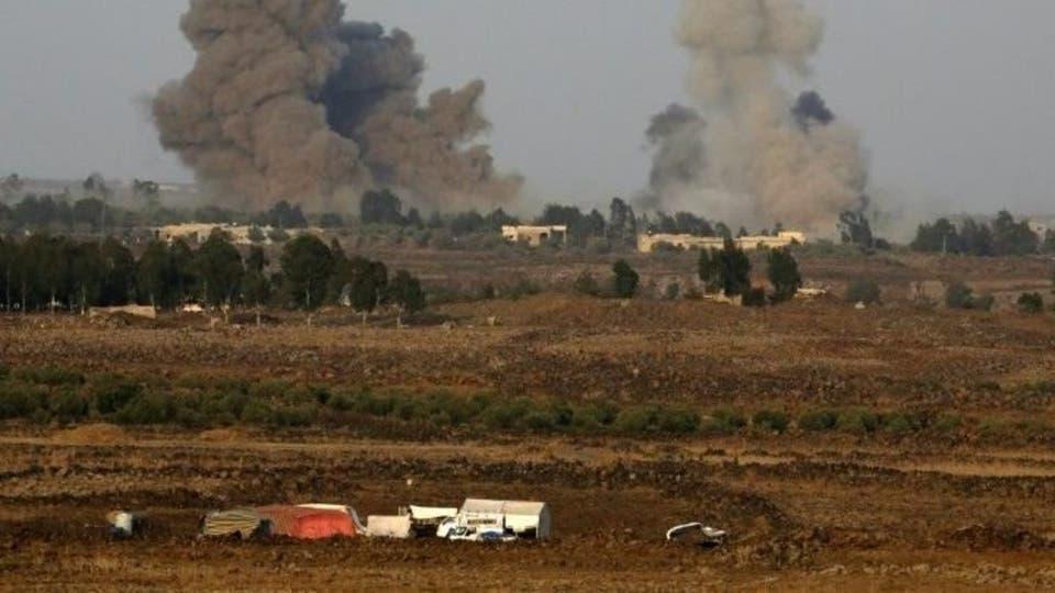 مرصد: مقتل 12 موالياً لإيران بقصف إسرائيلي قرب دمشق