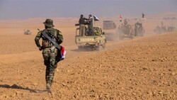 الحشد وطيران الجيش يقتلون 5 عناصر من داعش جنوب شرق تكريت