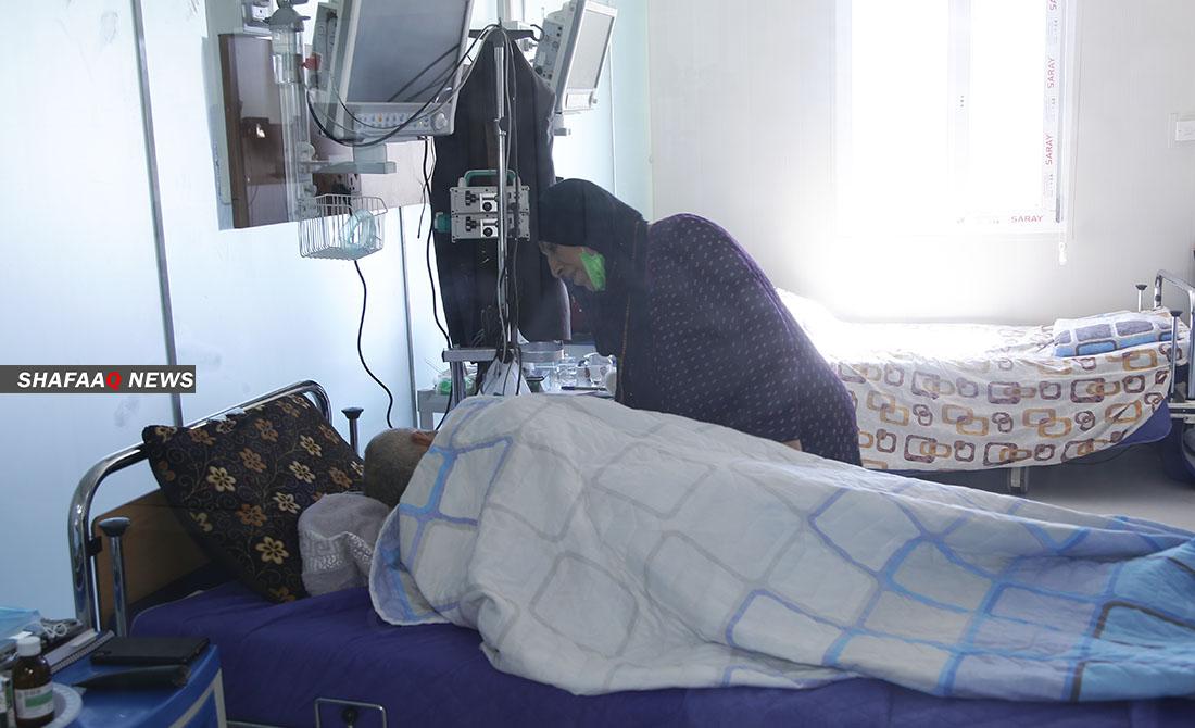 ٥ مردن نوو وە کۆڕۆنا لە پارێزگایگ کوردستان