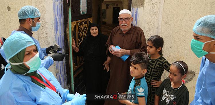 تسجيل 24 حالة وفاة واكثر من 200 اصابة جديدة بكورونا جنوب العراق