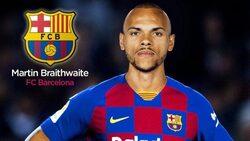 رسميا.. برشلونة يتعاقد مع المهاجم مارتن بريثويت