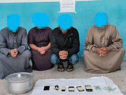 الاطاحة بعصابة متخصصة بالشعوذة واخراج الجن في جنوبي العراق