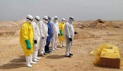دفن جثمان 81 متوفيا بكورونا في العراق خلال 24 ساعة