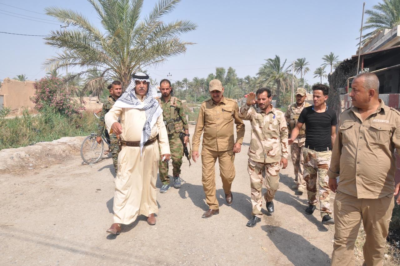 """الحشد العشائري في ديالى يكشف عن قرى زراعية """"مازالت تخضع لداعش"""""""