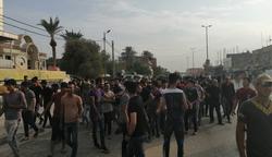 بمساندة جهتين.. قوات أمنية تفرق متظاهرين في ذي قار