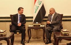 بدء اجتماع وفد حكومة اقليم كوردستان مع عادل عبد المهدي في بغداد