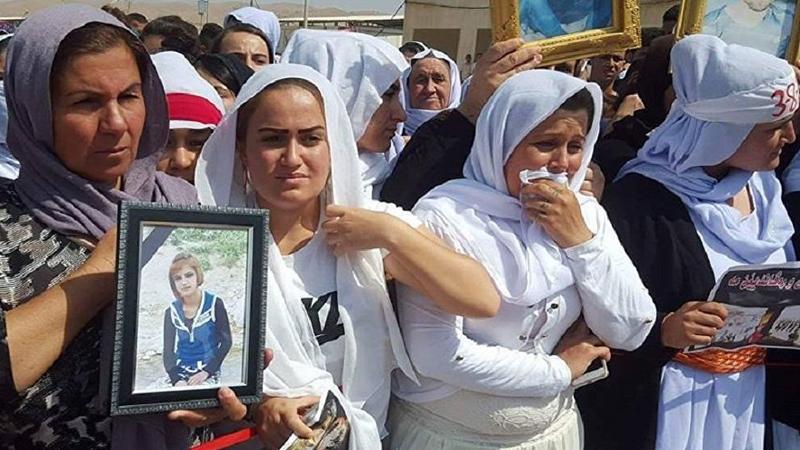 """احصائية جديدة عن الإيزيديات والمختطفين في أسواق """"نخاسة داعش"""""""