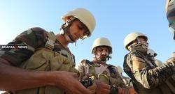 تفكيك مواقع ومتفجرات لداعش في عملية عسكرية امنية في ديالى