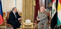 بارزاني يبلغ ممثل بوتين قلقه من امر