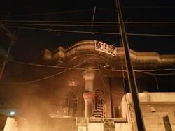 حرق مقر للعصائب جنوبي العراق .. الحركة: هؤلاء الجوكرية وأسيادهم الامريكان