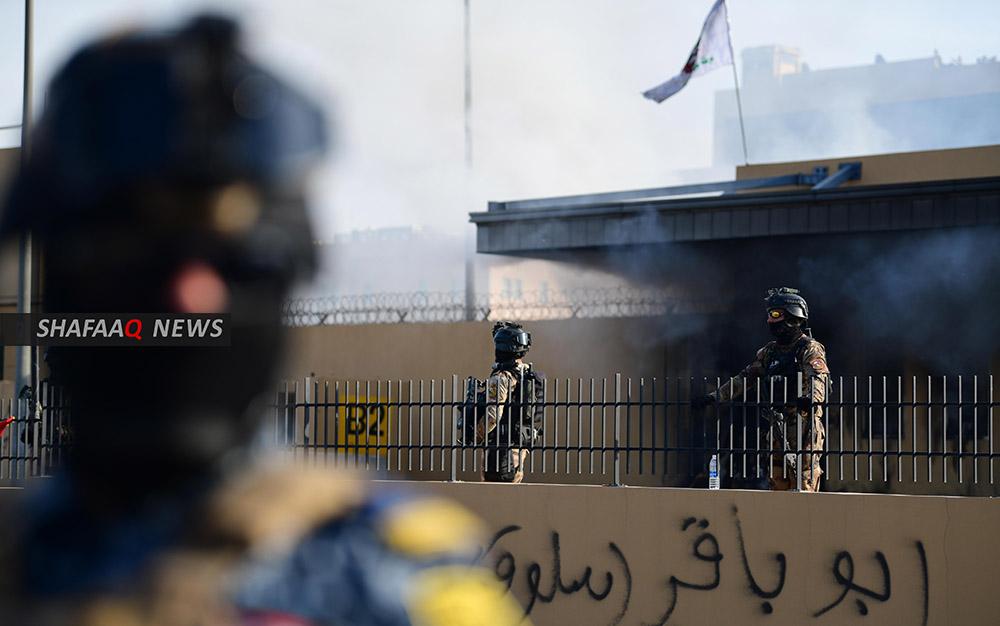 مع تزايد عمليات القصف.. جهاز مكافحة الارهاب يجري تدريباً خاصاً بمحيط  مطار بغداد
