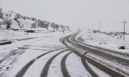 كثافة الثلوج تغلق معبرا بين اقليم كوردستان وتركيا