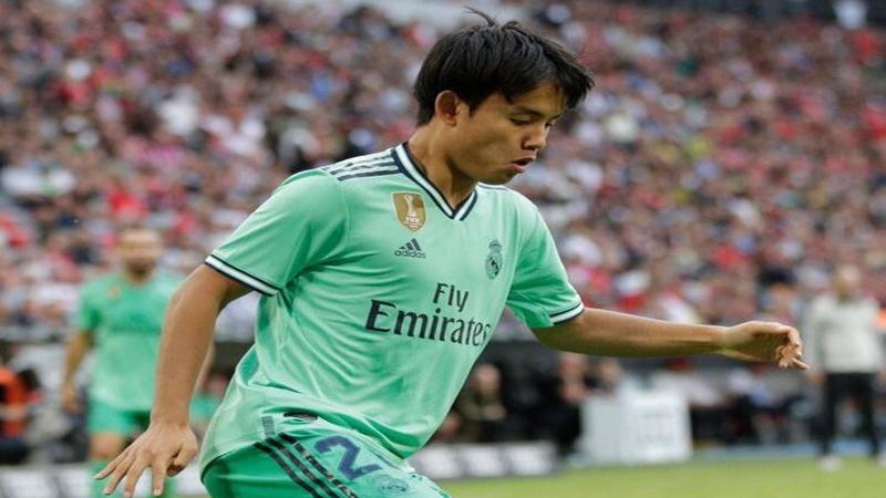 ريال مدريد يتلقى 5 عروض لموهوبه الياباني
