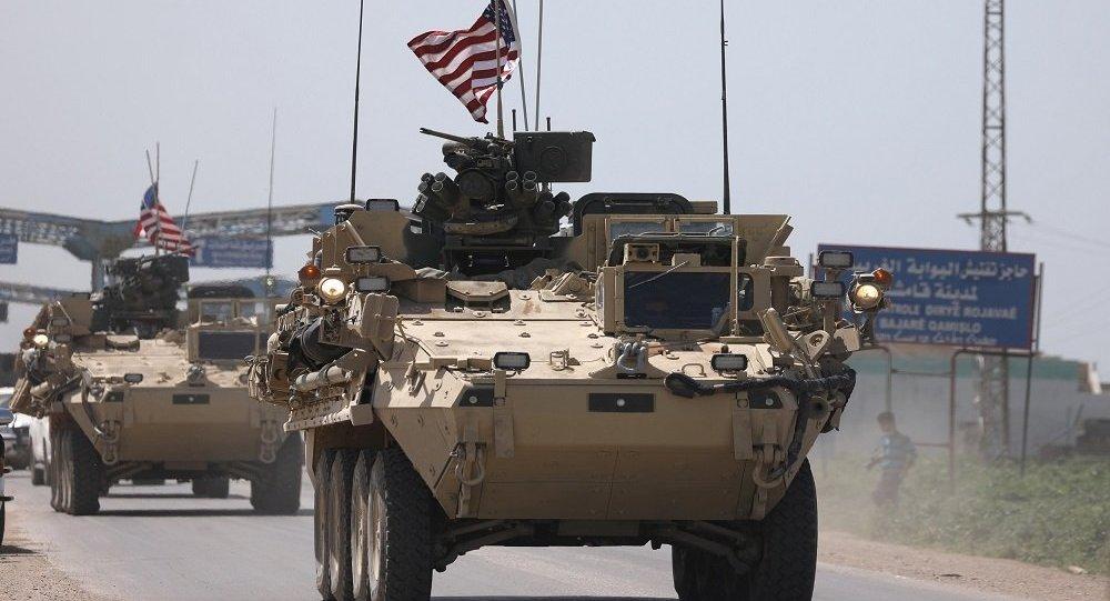 كاروانيگ ئهمريكى له مهرزهيل عراقييهو روێ له سوريا كرد