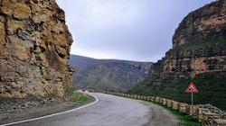 انهيار جبلي يعزل عشرات القرى في أربيل