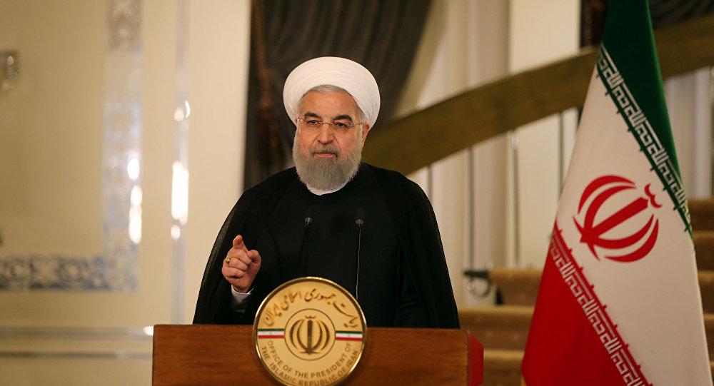 الرئيس الايراني يتهم امريكا بركوب موجة الاحتجاجات في العراق