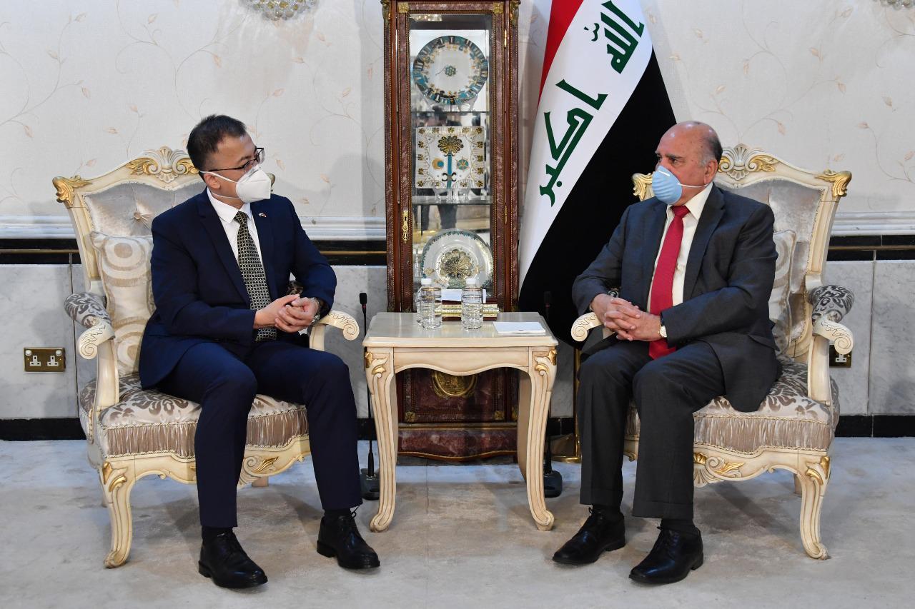 فؤاد حسين يتلقى دعوة رسمية لزيارة الصين
