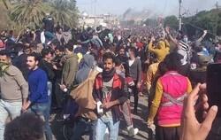 ارتفاع حصيلة اصابات تظاهرة الناصرية الى 150 برصاص حي واختناقات