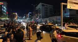 صور .. انطلاق تظاهرة ليلية وسط السليمانية