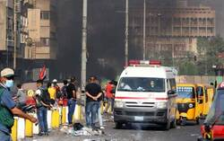 After being stabbed and left naked... A kidnapped paramedic released in Baghdad