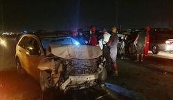 مصرع وإصابة خمسة أشخاص بحادث سير في كركوك