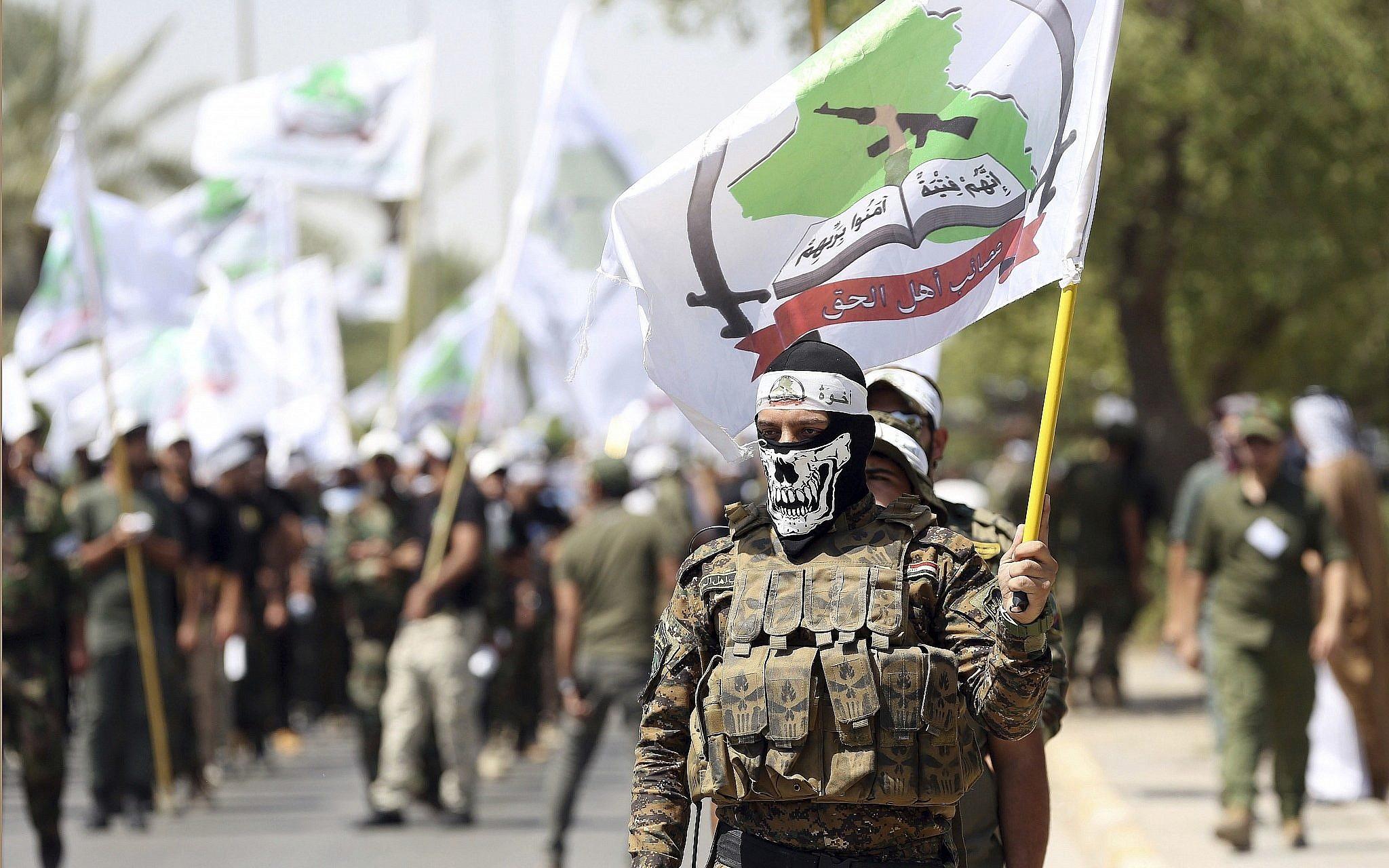 العصائب تهاجم الكاظمي بسبب حملة البحث عن سجاد