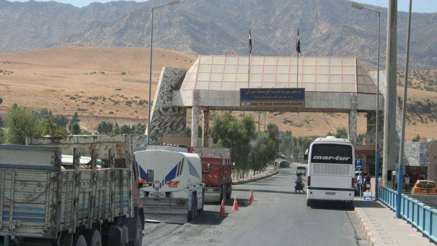 Kurdistan Region: The commercial exchange process continues at the border crossings