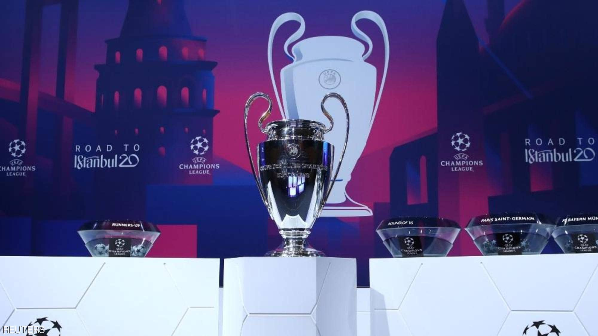 UEFA confirmed Venues for Round of 16 matches