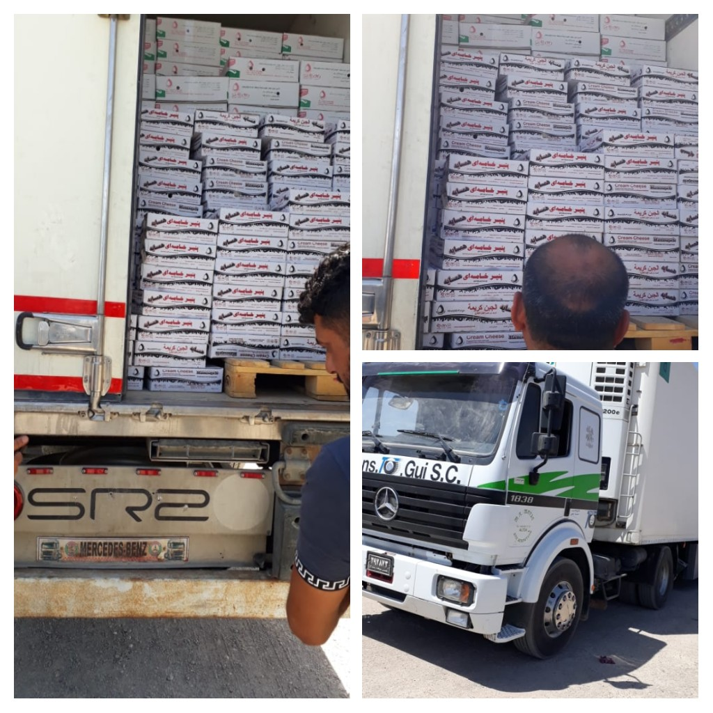العراق يعيد 13 طنا من الجبن الى إيران