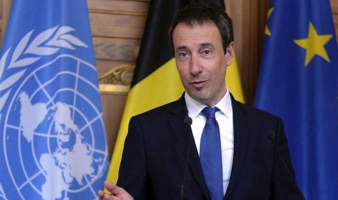 وزير الخارجية البلجيكي يصل الى اربيل