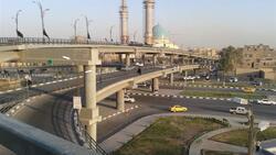 بعد يوم على افتتاحه .. اغلاق مجسر ثورة العشرين في النجف لهذا السبب
