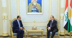 كوردستان تبدي استعدادها لتقديم تسهيلات استثمارية للأردن