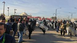 """مواطنون غاضبون يحتجون على """"اللاعدالة"""" بتوزيع النفط في كركوك"""