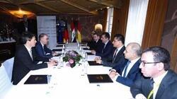 وزير ألماني لبارزاني: إقليم كوردستان نموذج مشرق للحكم في العراق