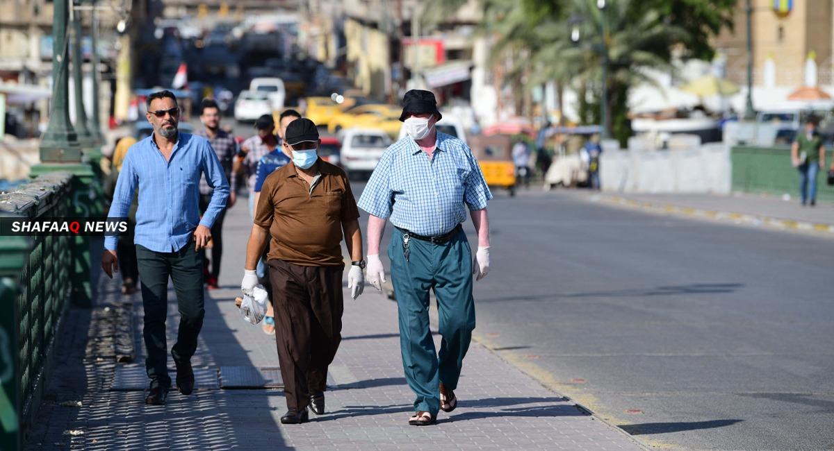 العراق يسجل 3396 إصابة جديدة بكورونا و2312 حالة شفاء اليوم