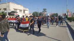 اعتقالات للمتظاهرين في البصرة واستخدام المسيل للدموع بذي قار