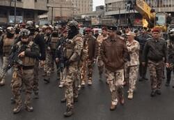 """اطلاق نار بمحاولة اقتحام قوات """"الشغب"""" ساحة التحرير ببغداد"""