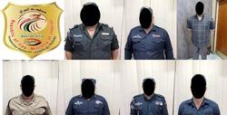 الداخلية تقبض على آمر قاطع و6 منتسبين بنجدة بغداد