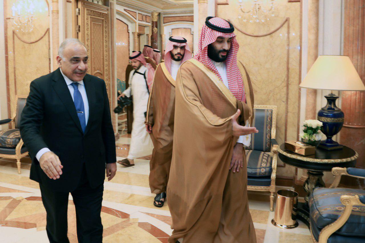 عبد المهدي عقب زيارته للسعودية حول امكانية اندلاع حرب: الاوضاع صعبة ومعقدة