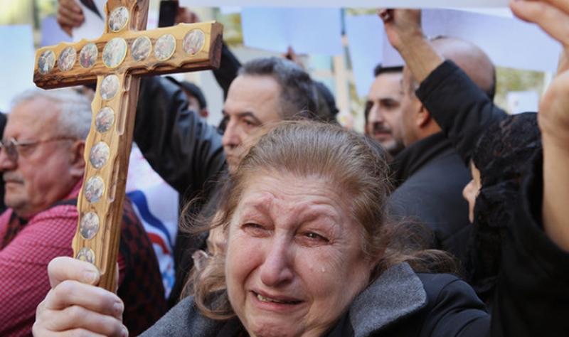 حقوق الإنسان تكشف ارقاماً مفجعة تلخص وضع المسيحيين في العراق
