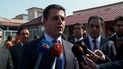 وصول وفد من اقليم كوردستان الى العاصمة بغداد