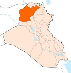 حادث سير يودي بمدير ناحية في نينوى