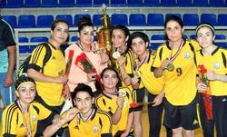 دهوك تحتضن بطولة دوري اليد الكوردستاني للسيدات