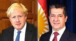 إقليم كوردستان يهنئ جونسون ويتطلع للعمل المشترك مع بريطانيا